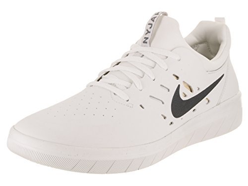 Nike SB Nyjah Free, Zapatillas de Deporte Hombre, Multicolor (Summit White/Anthracit 100),...