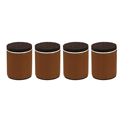 FA-HX Steunvoet-Meubelsteunvoeten × 4, zelfklevende Installatie van Koolstofstaal Gewicht-Bearing Verhoging Voetmat, Gebruikt voor Bank Poten, Koffietafel Poten en Verhoogde Bedvoeten, Meubilair