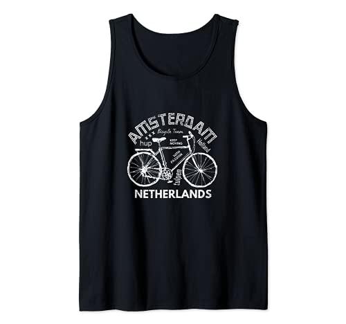 Amsterdam Bike design - Bicicletta Olanda Olanda Canotta