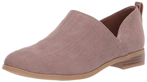 Dr. Scholl's Shoes womens Ruler Ankle Boot, Taupe Grey Microfiber, 8 US