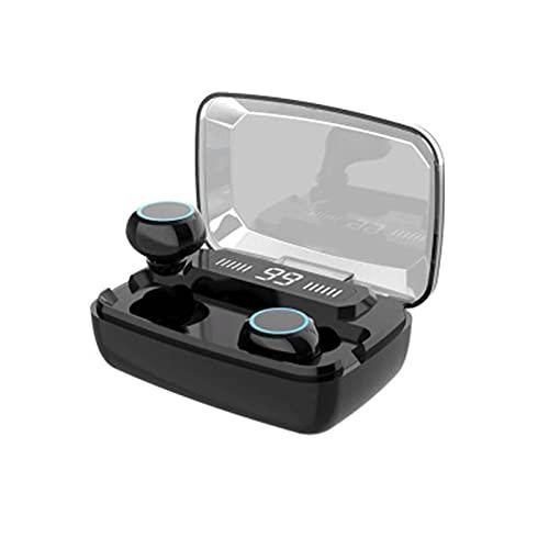 HOLPPO Tapones para Los Oídos Inalámbricos, 3500 MAh Auriculares Bluetooth V5.0, Auriculares Intrauditivos Impermeables IPX7, Adecuado para Correr Entrenamientos De Gimnasio