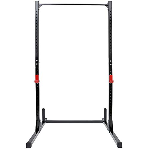 rack stands ANT MARCH Power Rack 500LB Max Load Adjustable Power Cage Squat Rack Stands for Home Gym Full Body Multi-Function Fitness Workout