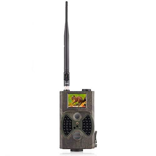 GLJJQMY Jagdspiel Kamera E-Mail MMS GSM 1080p Nachtsicht Jagdfalle HC300M Wilde Jagdspur Kamera Wildkamera