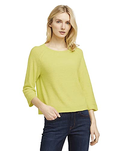 Tom Tailor 1025758 Basic Pullover, 26777-Celery Ice, S para Mujer