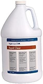 Aquascape Rapid Clear Flocculant Water Treatment for Ponds, Pro Contractor Grade, Liquid, 1 Gallon   30412