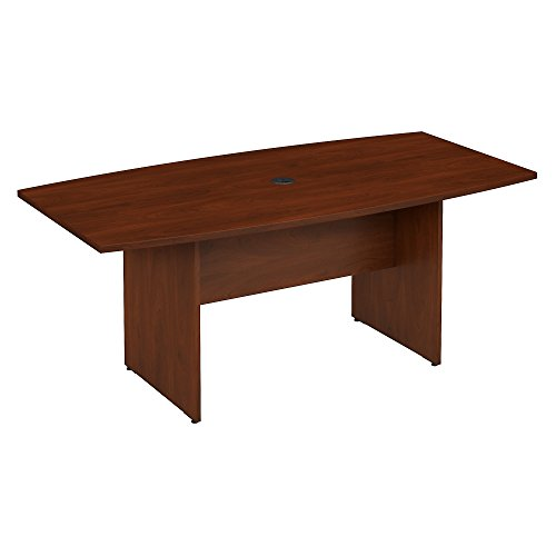 Bush Furniture Wooden Boat Shaped Conference Table