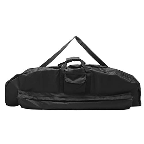Amarine Made Compound Bow Case Soft Bow Case Compound Bow Carry Bag Black Archery Bow Case Outdoor Portable Universal Takedown Bow Holder