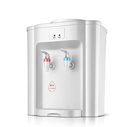 Dispensador instantáneo de Agua fría/Caliente Enfriador eléctrico de Agua embotellada fría Máquina de Agua de Escritorio de Alta Capacidad, oficinas y Salas de reuniones con recipien