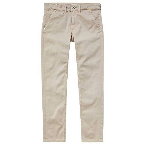 Pepe Jeans Greenwich Pantaloni, Marrone (846light Biscuit 846), 10-11 Anni (Taglia Produttore: 10) Bambino