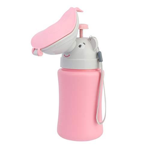 NUOBESTY bebé niña Orinal de Coche Conveniente Inodoro de Coche Orinal Botella orinar Herramienta Inodoro de Emergencia para Viajes y Camping Taza de Entrenamiento de PIS