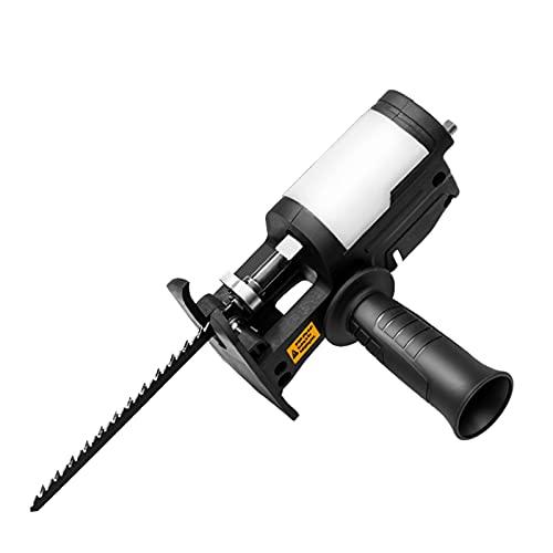 Lixiaonmkop Hubkolben-Sägeadapter Elektrischer Bohrer an elektrische Säge-Holzbearbeitungswerkzeuge anpassen mit 152 mm / 132 mm / 100mm für Kunststoff-Holzschneiden (Color...