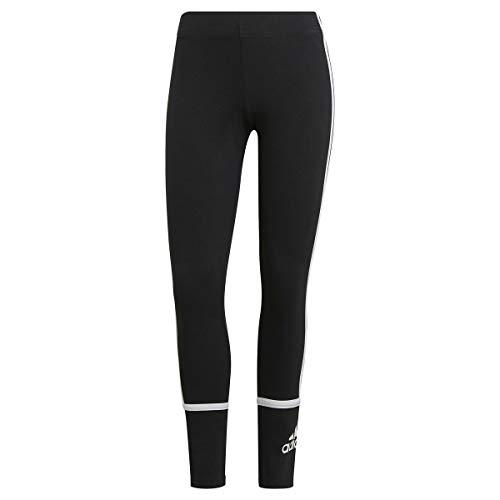 adidas GR3975 W CB Leg Leggings Donna Black/White L