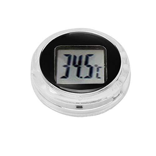Houkiper Termometro Digitale Autoadesivo Universale Mini Termometro Digitale Adatto per Cucina Bagno Auto Moto