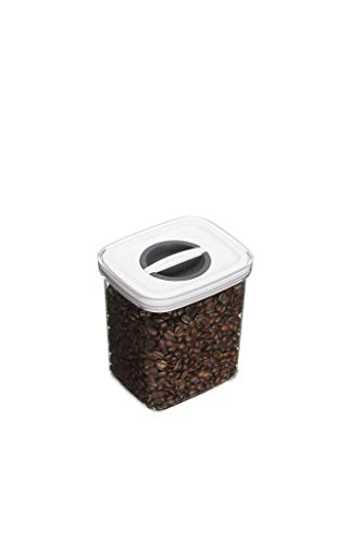 masterclass Smart Seal Airtight Food Storage Container, Plastic, Transparent, 1.3 Litre