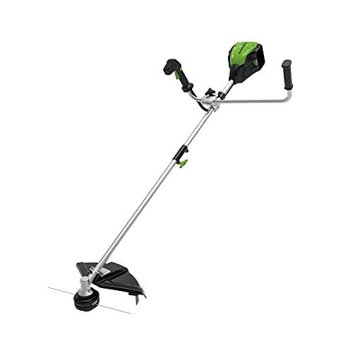 Greenworks Tools 80V 40cm Akku-Rasentrimmer ohne 2Ah Akku und Ladegerät, 800W 5500RPM, Schlaufengriff, 2 in 1, mit Freischneider und Nylonschnur, Stoßvorschub, mit Gürtel