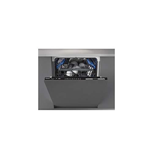 Lave vaisselle encastrable 60 cm Candy CDIN2D520PB - Lave vaisselle tout integrable - Classe énergétique A+ / Affichage temps restant - Départ différé
