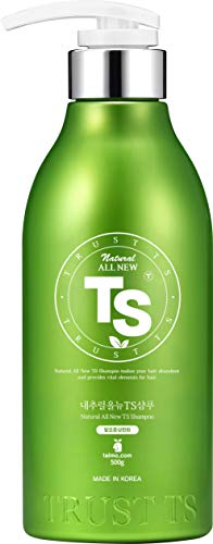 Natural All New TS Shampoo (16.9 Fl Oz) | For Thinning Hair & Hair Loss | Best Hair Growth Stimulating Shampoo | LAVENDER Scent with Essential Oil & Biotin & Natural Ingredients | Anti-Hair Loss