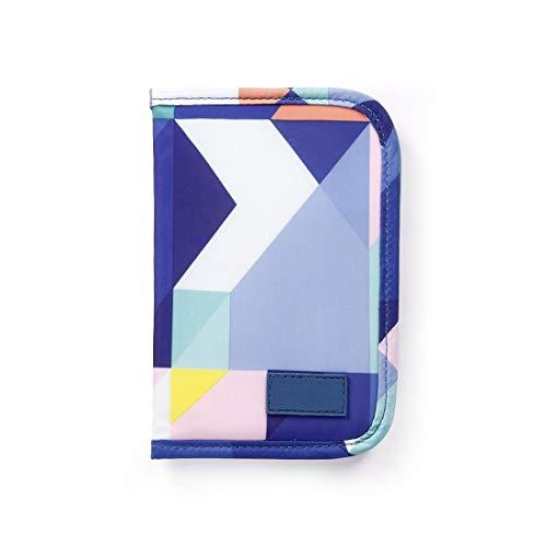 Reisepasshüllen Mappe Reise-Dokumente Tasche Reisepass Kreditkarten-Halter Damen und Herren mit Reißverschluss Geldbörse Etui Ticket