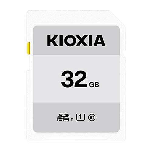 キオクシア(KIOXIA) 旧東芝メモリ SDHCカード 32GB UHS-I対応 Class10 (最大転送速度50MB/s) 日本製 国内正規品 3年保証 Amazon.co.jpモデル KTHN-NW032G