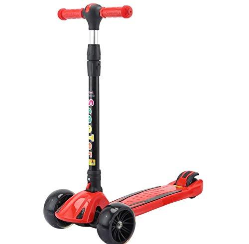 KTH Multifunktions-Roller für Kinder, der tragbare dreirädrige Roller-Spielzeug-Roller für Kinder faltet
