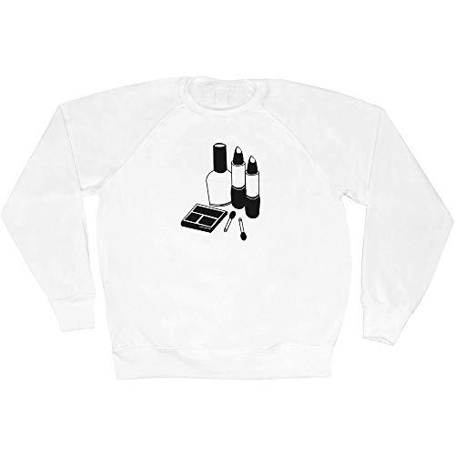 Azeeda Extra Groß 'Schminkset' Unisex Sweatshirt / Pullover (SW00012972)
