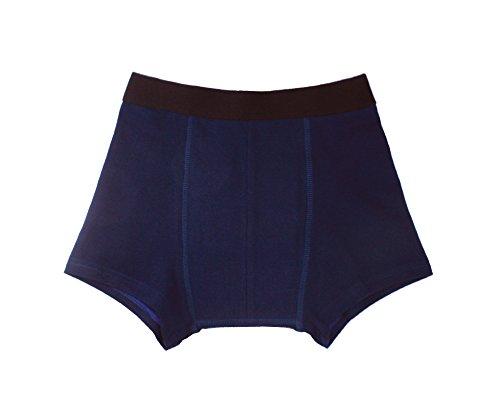 """Inkontinenz-Shorts Jungen, Inkontinenzhose mit Saugeinlage, dunkelblau, waschbar, ActivePro Boys""""Midnight Blue"""" (122-128)"""
