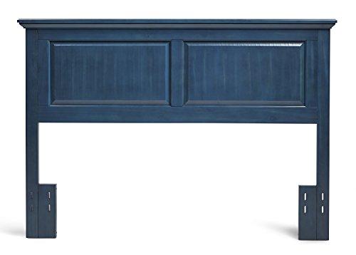 Mantua Arcadia Wood Headboard, Full/Queen, Vibrant Blue,