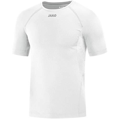 JAKO T-Shirt de Compression 2.0 pour Homme XXL Blanc.