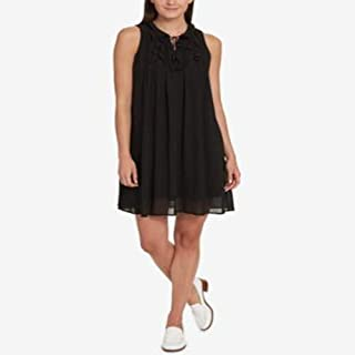 Tommy Hilfiger Ruffled Dress Black M