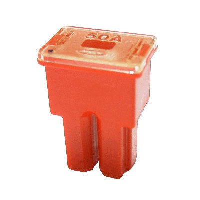 Japan PAL Blocksicherung Typ AS 50A / 32 V/rot