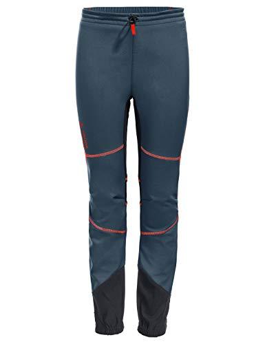 VAUDE Kinder Performance Pants Hose, Steelblue/Anthracite, 158/164