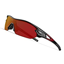 TOREGE Polarized Sports Sunglasses for Men