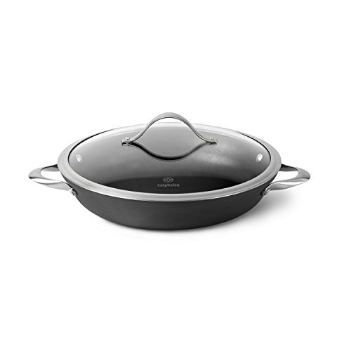 Calphalon 1877039 Everyday Pan, 12-inch, Silver/Gray
