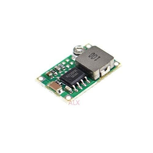 5PCS RC MINI-360 DC-DC Adjustable Step-Down Voltage Regulator Power Supply Module Board Buck Converter 4.75V-23V to 1V-17V
