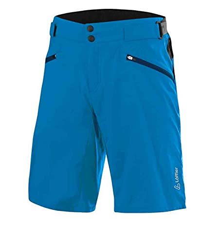 LÖFFLER M Bike Shorts Pace CSL Blau, Herren Hose, Größe 52 - Farbe Blue Lake
