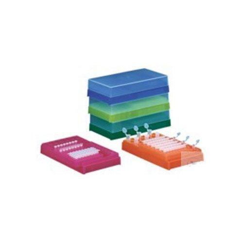 neoLab 2-2761 Combi-Rack für PCR-Tubes u. Reaktionsgefäße mit Deckel, Blau