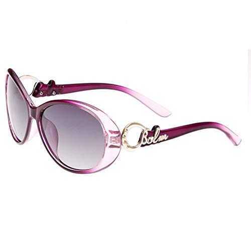 N/A Gafas de Sol para Hombre Gafas de Sol para Mujer Gafas de Sol polarizadas de Moda Gafas de Sol Lente polarizada Espejo de conducción Femenino de Moda