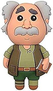 Llavero La Bella y la Bestia 3D Padre de Bellas Disney Monogram 7 cm: Amazon.es: Juguetes y juegos