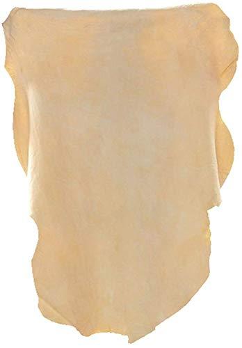 YRRA Pelle di Daino di Elevata qualità Panno in Pelle per Auto Panno di Pulizia e lucidatura di Auto Pelle Daino per Auto,50x90cm