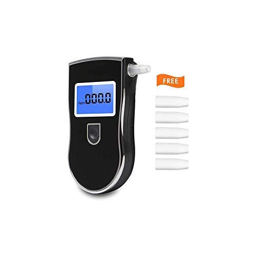Híbido Prueba de Alcohol, la precisión de Nivel Profesional de Alcohol probador del Sensor 10 Segundos Detección de Resultados, de Pantalla for Personal, Profesional, Conductores, Uso del hogar