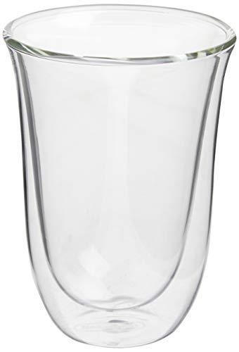 De'Longhi Juego de 2 vasos premium para café latte macchiato, apto para...