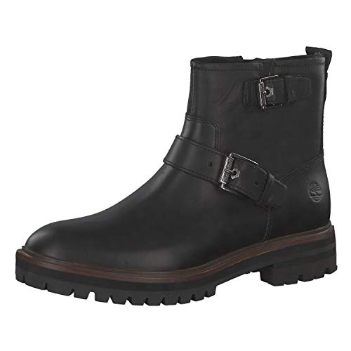 Timberland Damen Boots London Square Chukka Jet Black 37.5