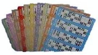 600Tickets de bingo-100pages/bandes