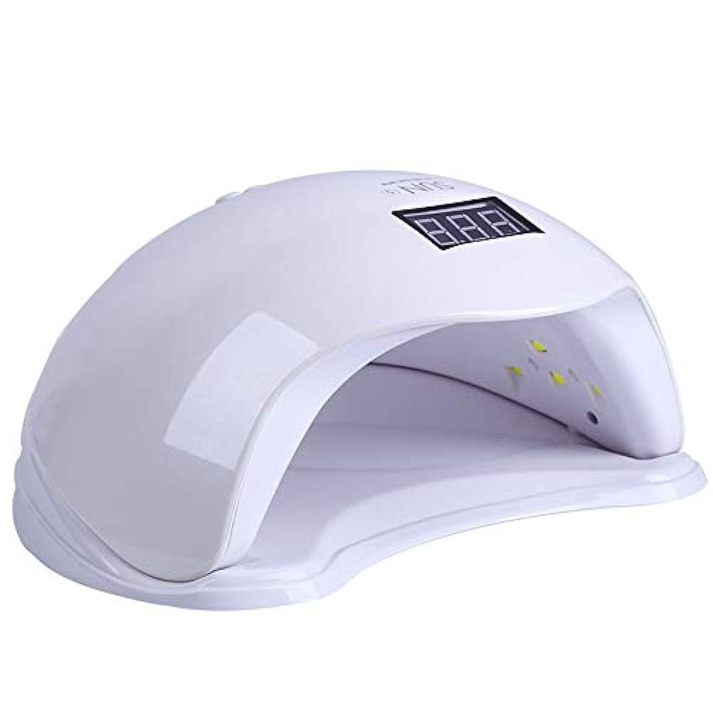 アンプピット摂氏紫外線ネイルライト、3種類のタイマー設定を備えた48W UVネイルドライヤー、およびジェルネイルと足の爪の硬化用センサー