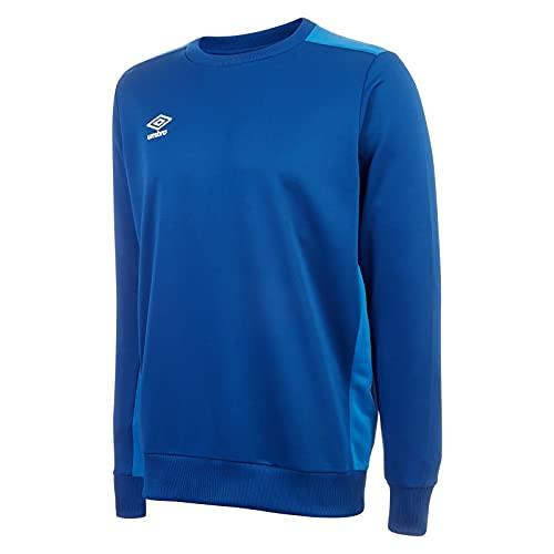 Umbro Training Poly Sweater Rojo FCYV, Hombre, azul, extra-large