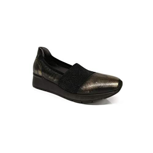 Melluso Scarpe da Donna Ballerina Pelle Bronzo HR25005-AURORA