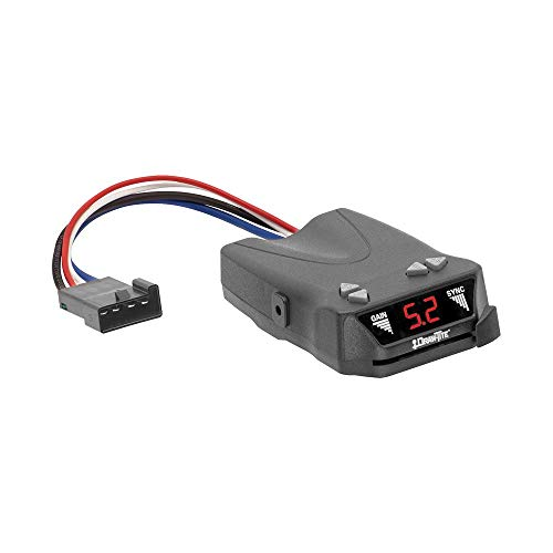 Draw-Tite 5504 Activator IV Electronic Brake Control , silver