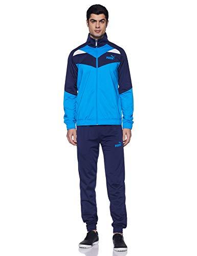 PUMA Herren Trainingsanzug Iconic Tricot Suit Cl, Indigo Bunting, S, 851559