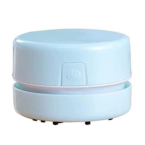 Yililay Mini portátil Aspirador de Polvo de Escritorio inalámbrico portátil operado por batería para Teclado del Ordenador portátil Tabla de Limpieza para el hogar, Oficina, Coche