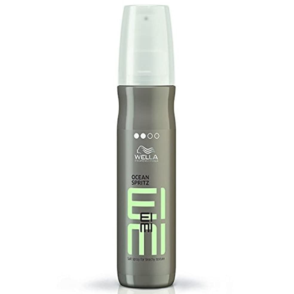 獣魅了する冷凍庫Wella EIMI Ocean Spritz - Salt Spray For Beachy Hair Texture 150 ml [並行輸入品]